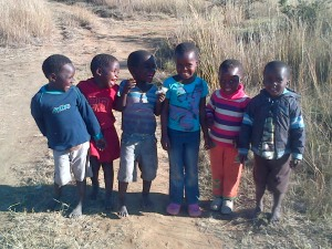 "My greeting crew everyday when I get home from school. ""Thandeka! Thandeka!"""
